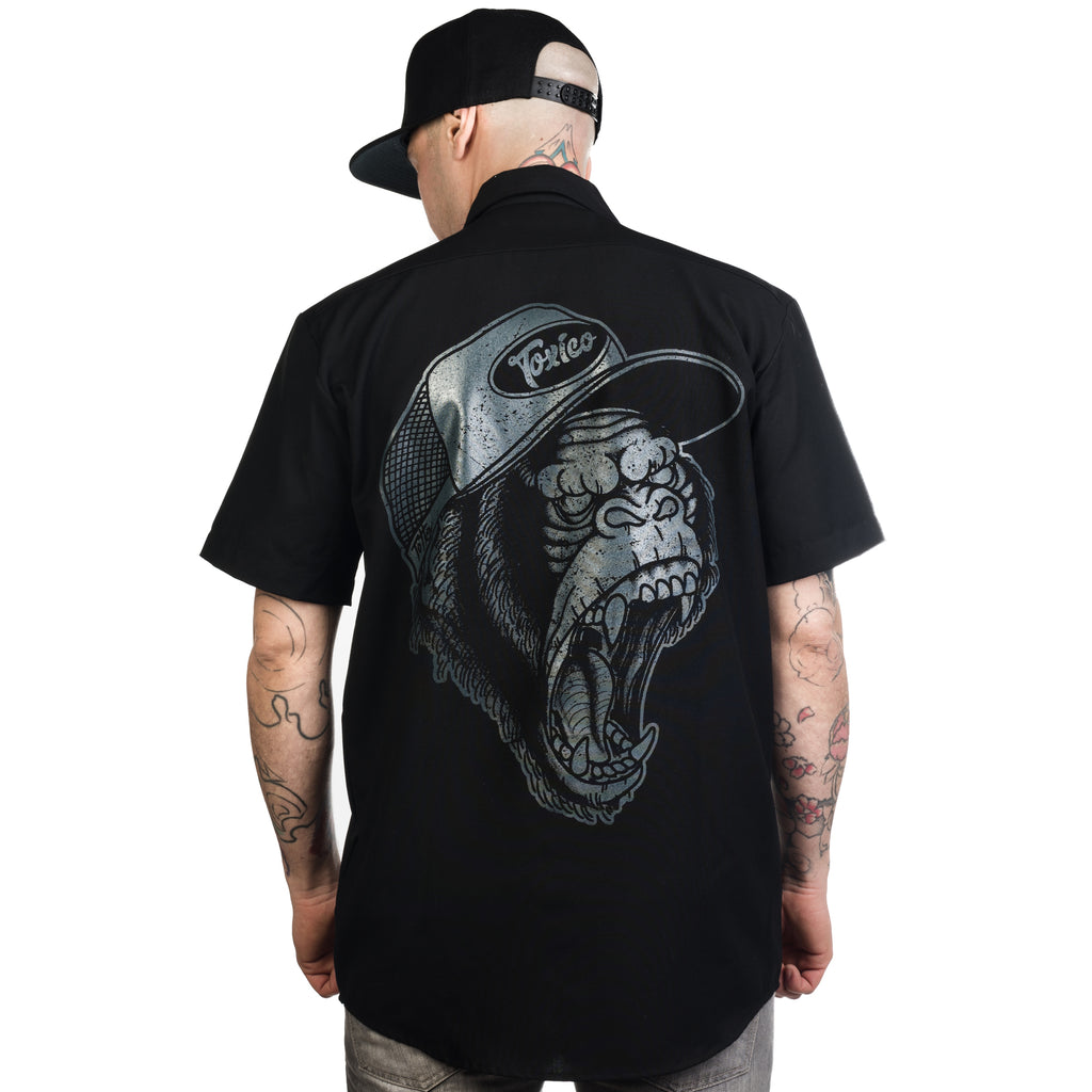 Gorilla Work Shirt - Toxico Clothing