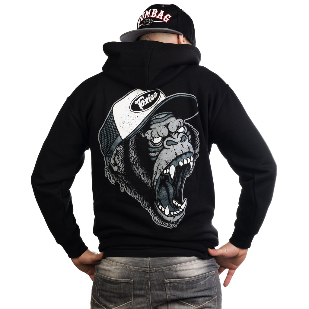 Gorilla Zip Hood - Toxico Clothing