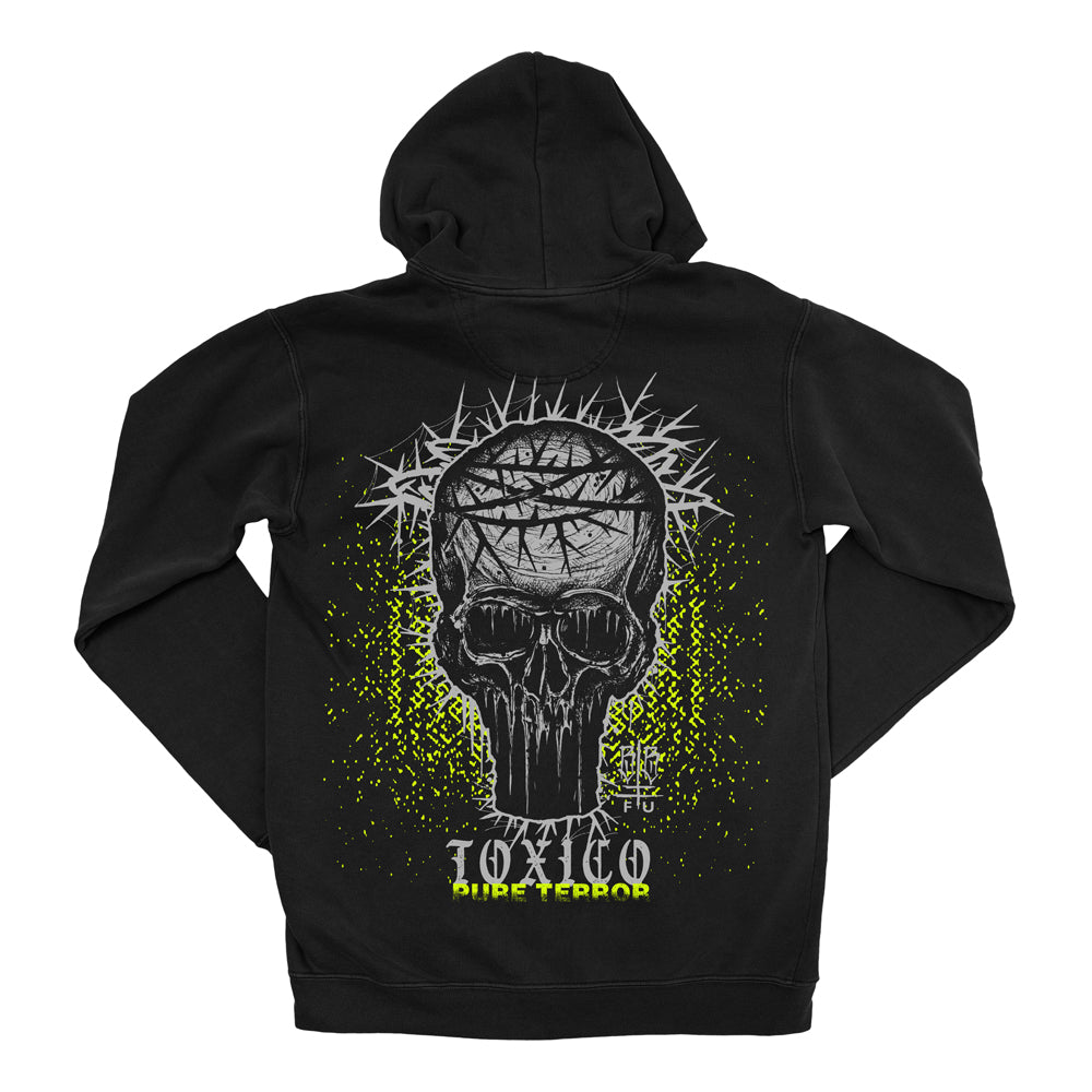Pure Terror Ziphood - Toxico Clothing