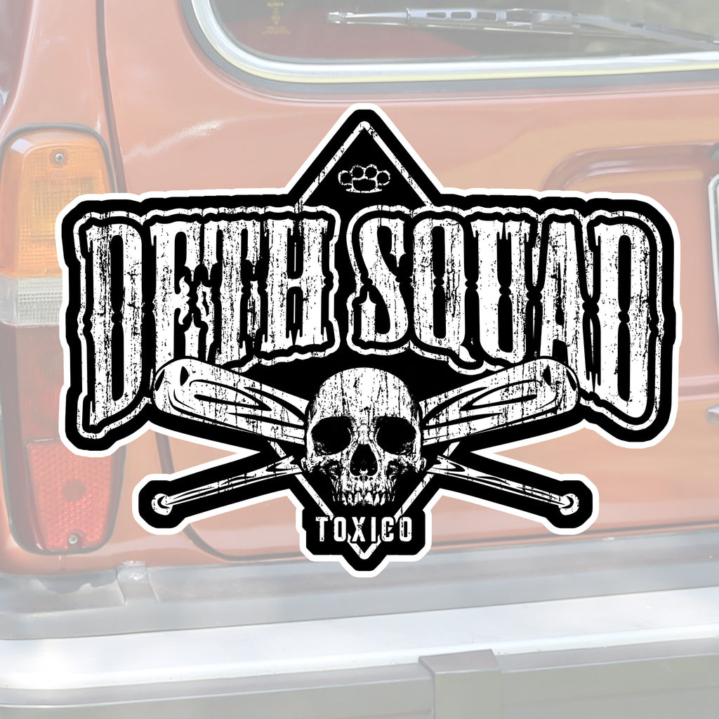 Deth Squad Bats Sticker - Toxico Clothing
