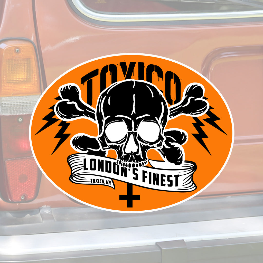 London's Finest Sticker - Toxico Clothing