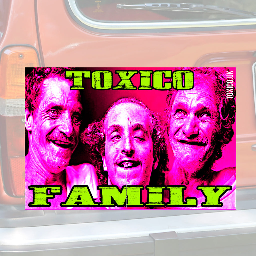 Toxico Family Sticker - Toxico Clothing