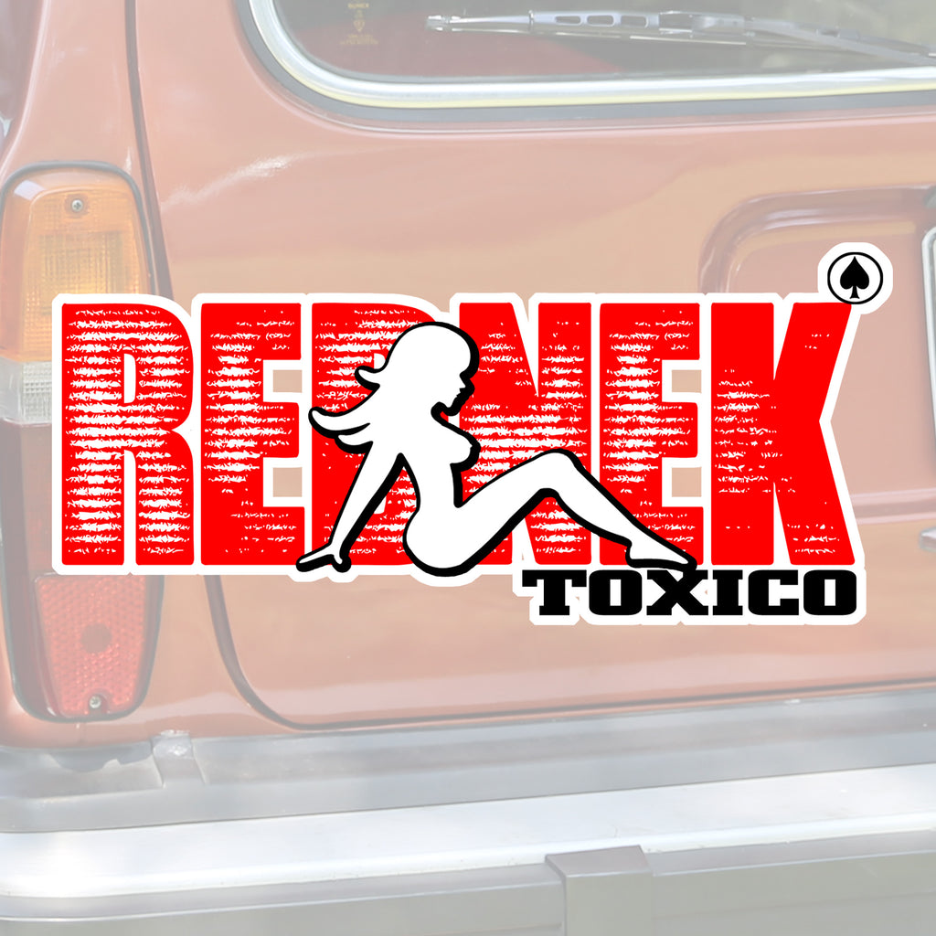 Rednek TruckerSlut Sticker - Toxico Clothing
