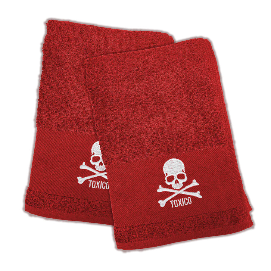 Skull Hand Towel Set - Toxico Clothing