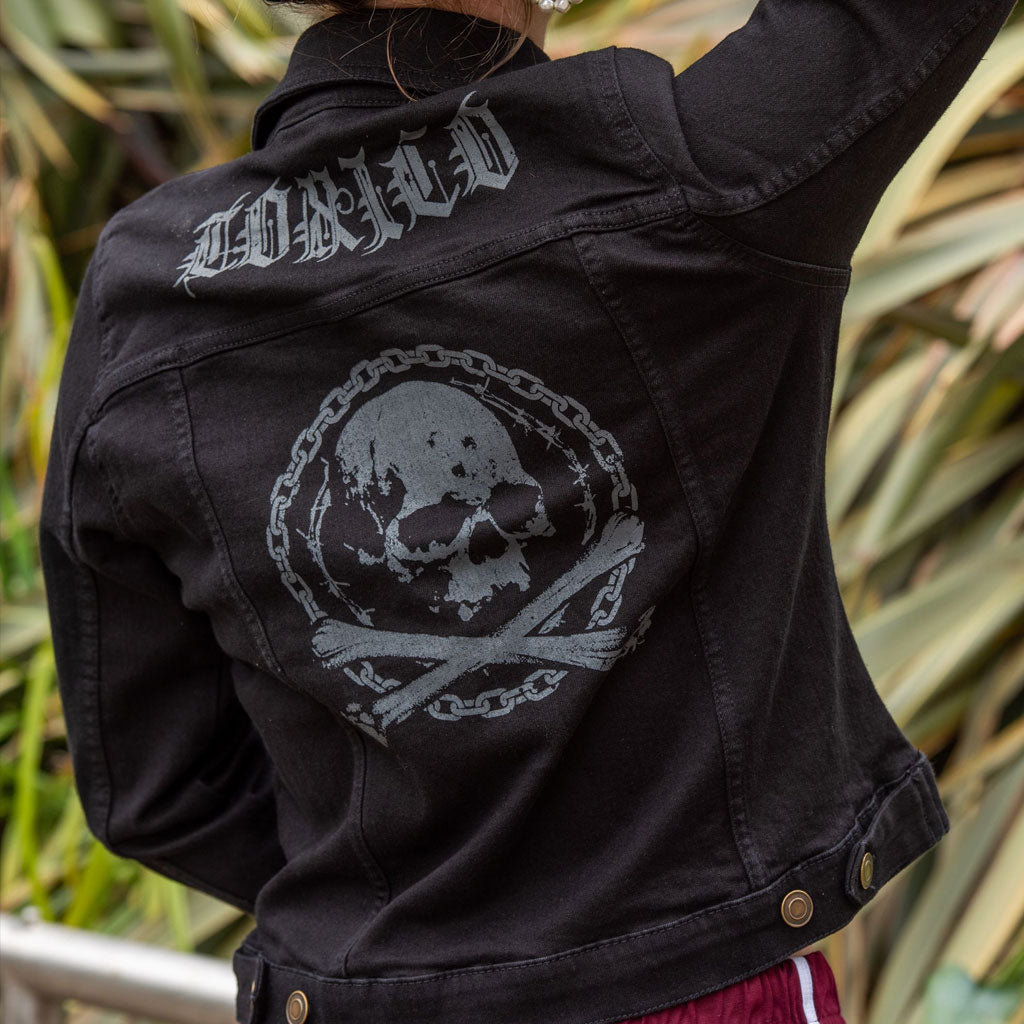 Death From Below Denim Jacket - Toxico Clothing