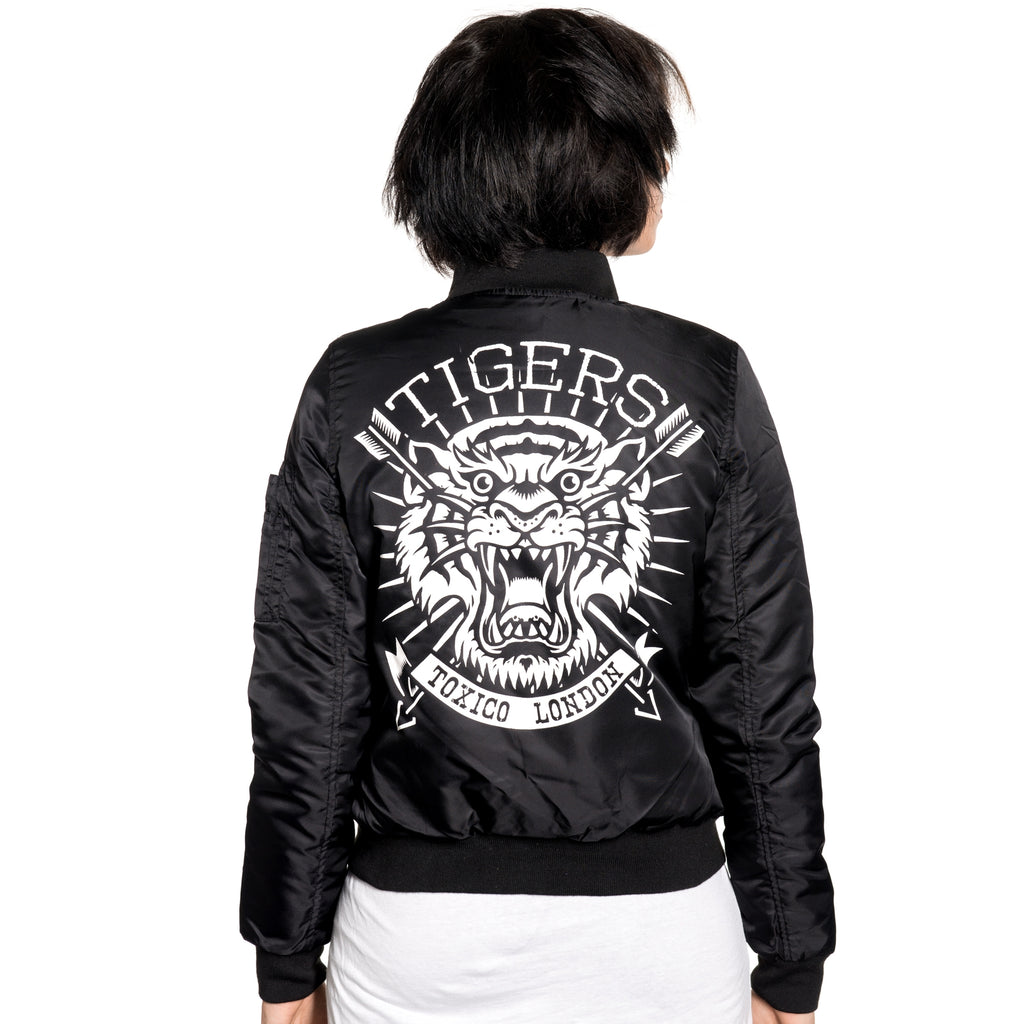 Tigers Flight Jacket - Toxico Clothing