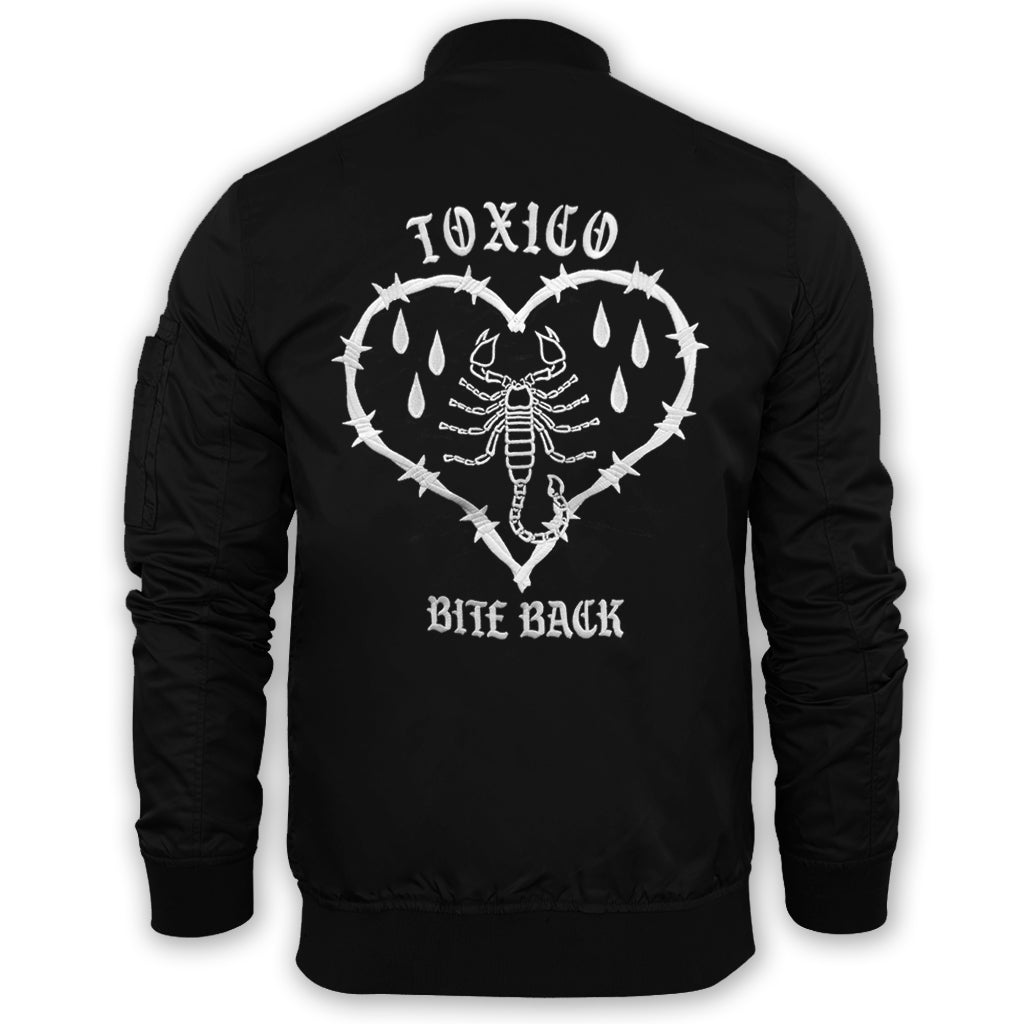 Bite Back Flight Jacket - Toxico Clothing