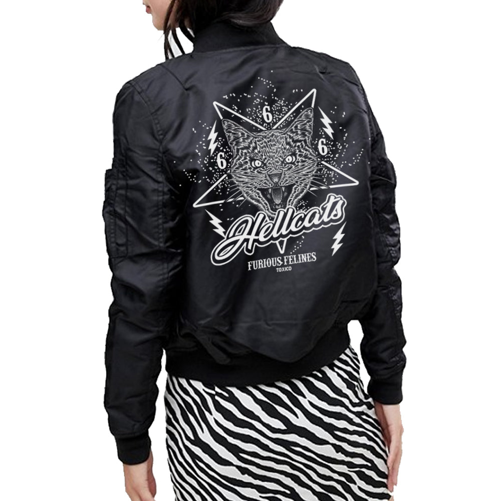 Hellcats Flight Jacket - Toxico Clothing