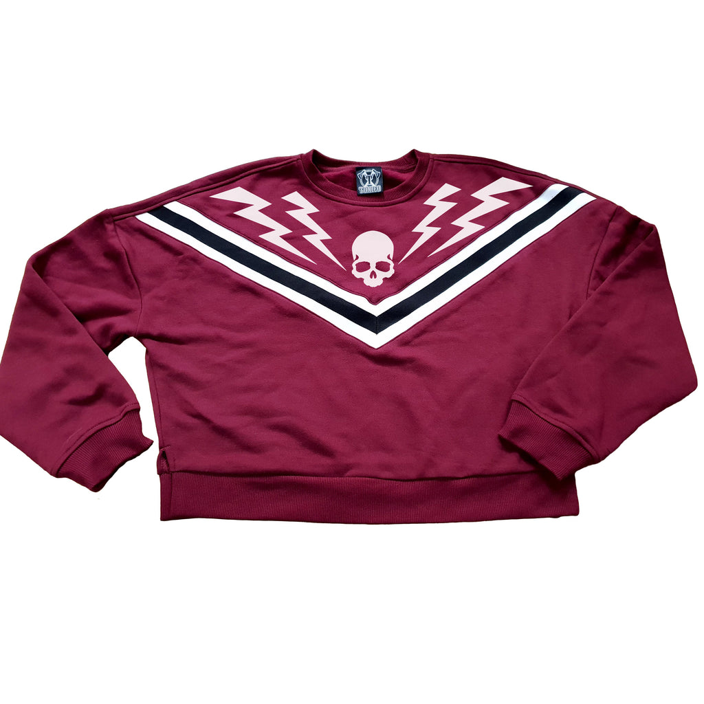 Bolts Chevron Sweatshirt - Toxico Clothing