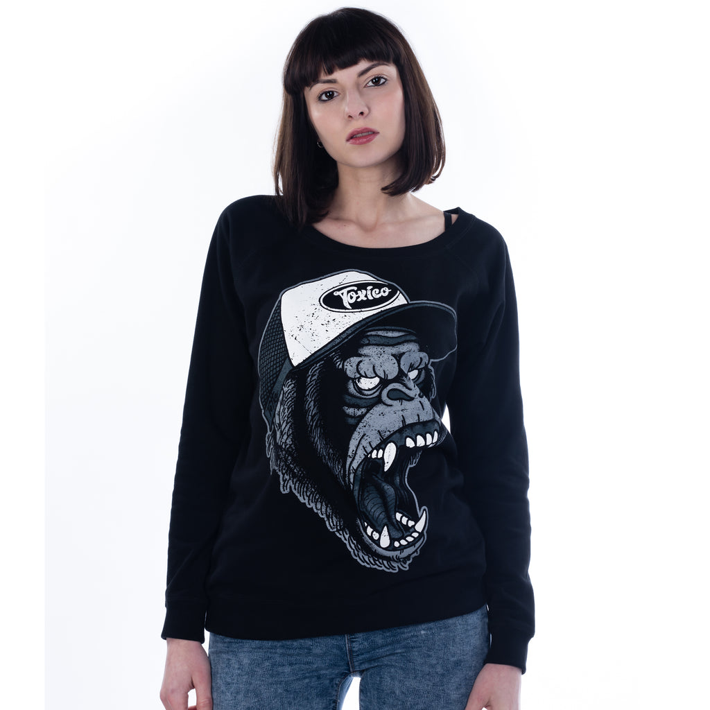 Gorilla Sweatshirt - Toxico Clothing