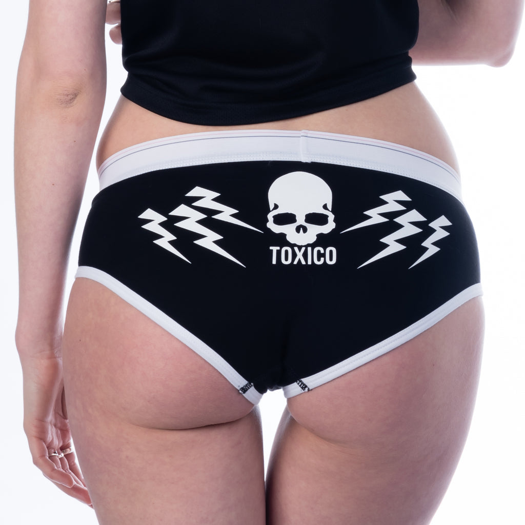 Bolts Boyfriend Briefs - Toxico Clothing