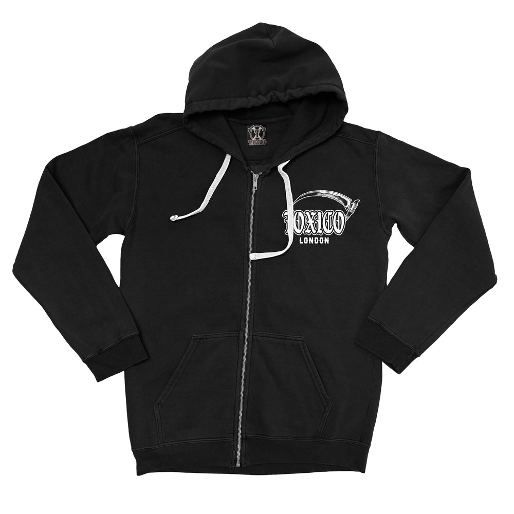 Take Heed Zip Hood - Toxico Clothing