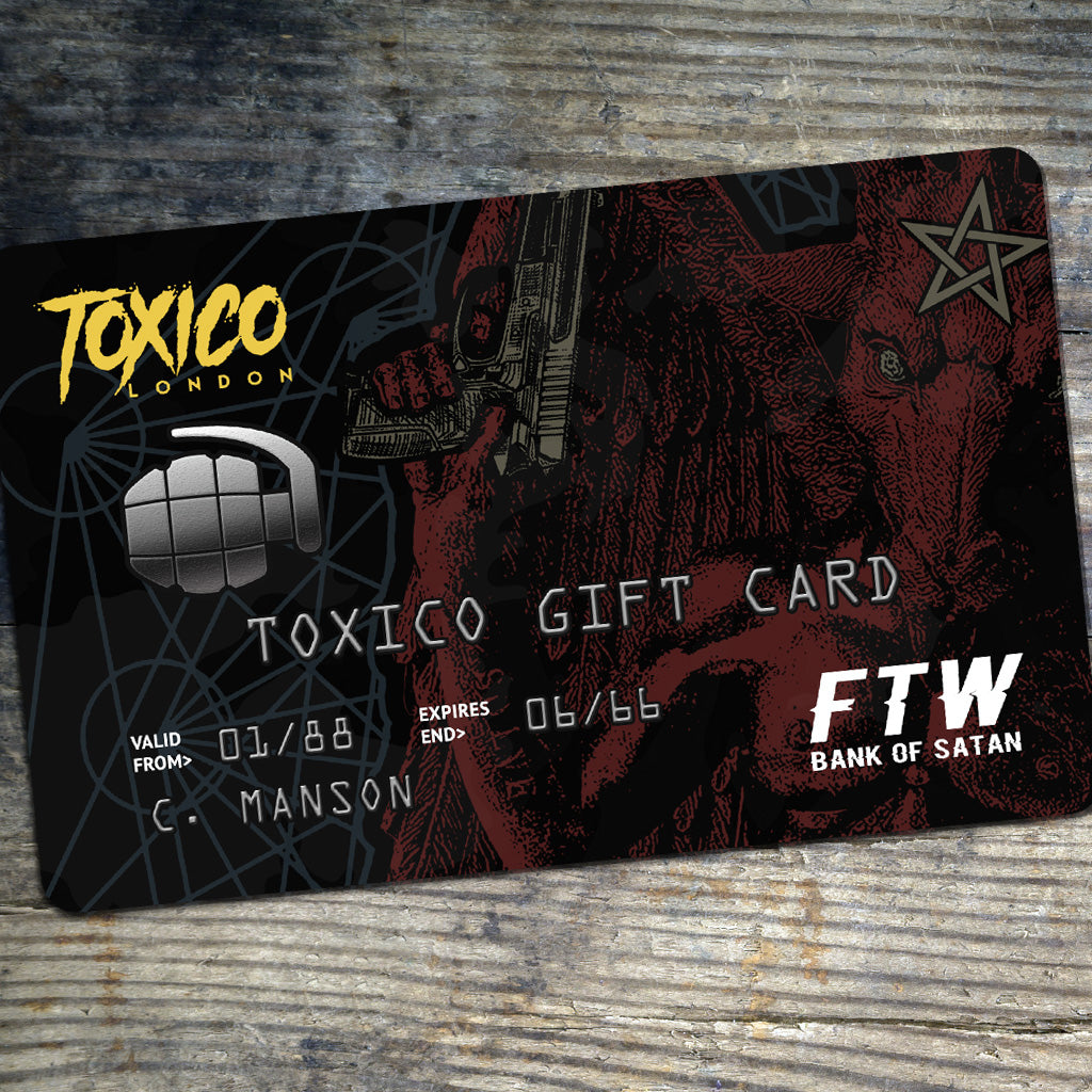 Gift Card - Toxico Clothing