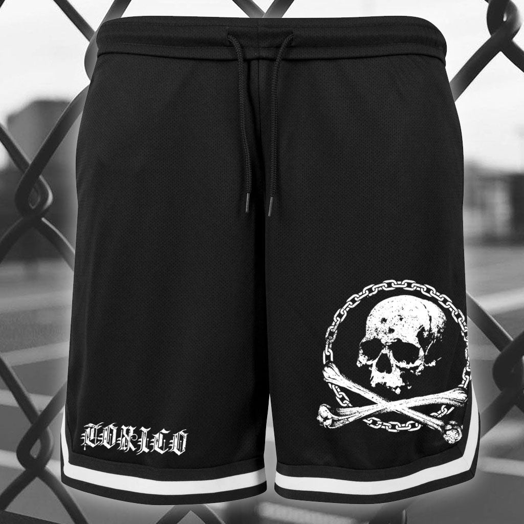 Death From Below Mesh Shorts - Toxico Clothing