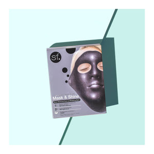 Activated Charcoal Modeling Gel Mask