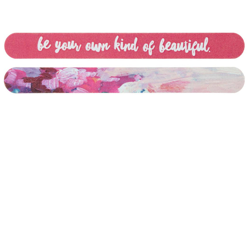 "NAIL FILE ""BE YOUR OWN KIND OF BEAUTIFUL"""