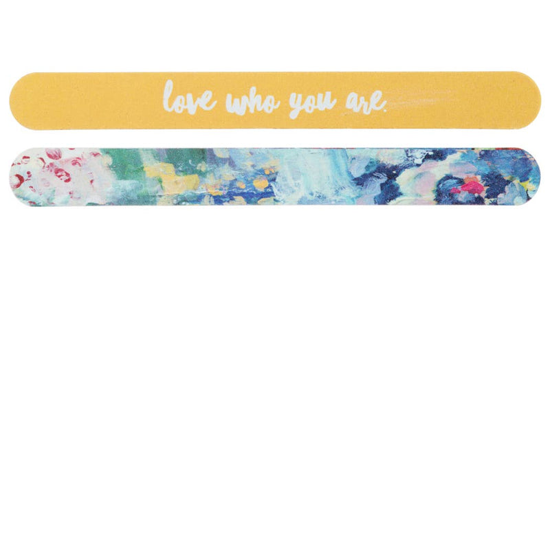 "NAIL FILE ""LOVE WHO YOU ARE"""
