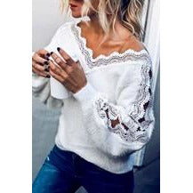 Knitted Cozy Sweater Top