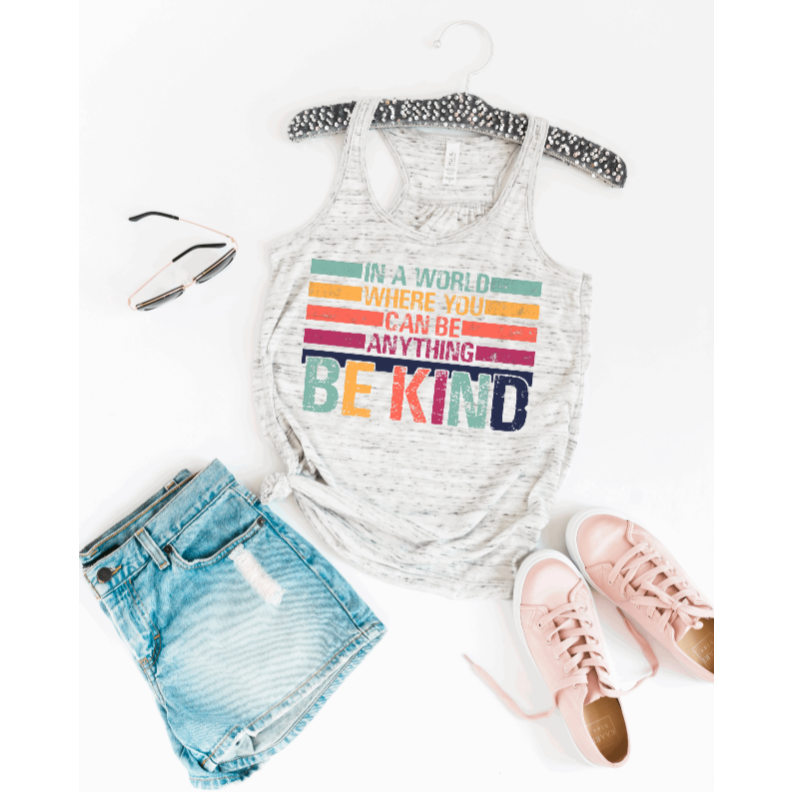 Be Kind Racerback Tank Top