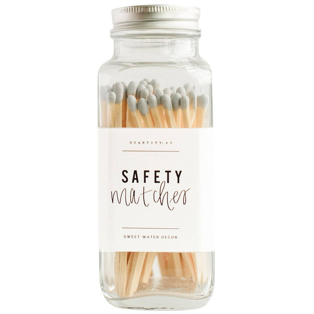 Safety Matches - Glass Jar
