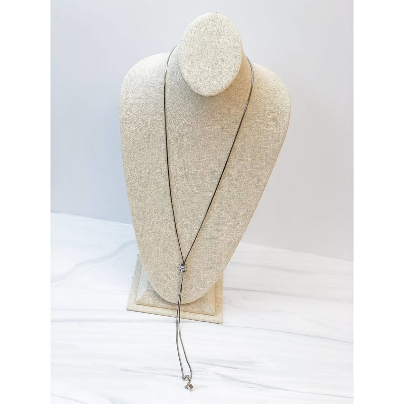 Cubic Zirconia Lariat Necklaces