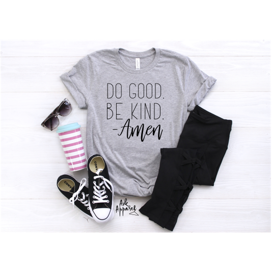 Do Good, Be Good - Lilac Clothing Company LLC