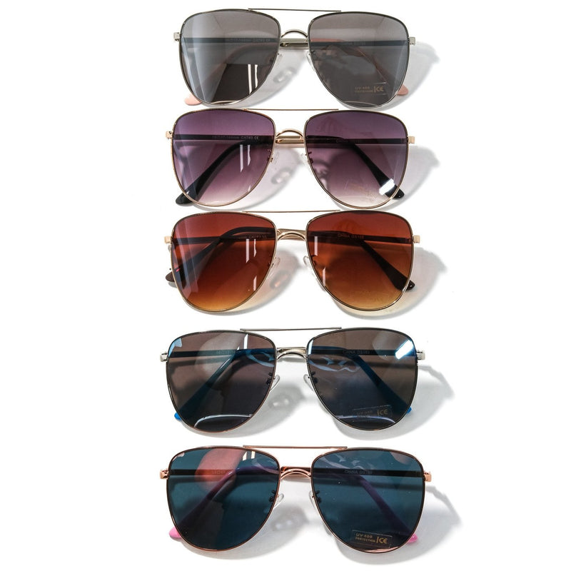 Classic Aviator Sunglasses - Lilac Clothing Company LLC