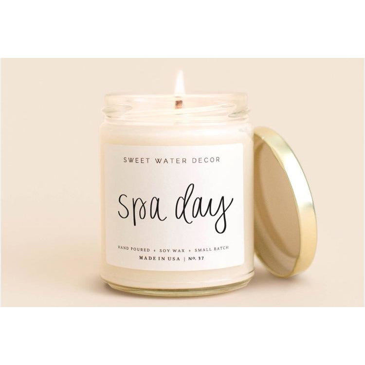 Sweet Water Soy Candle - Spa Day