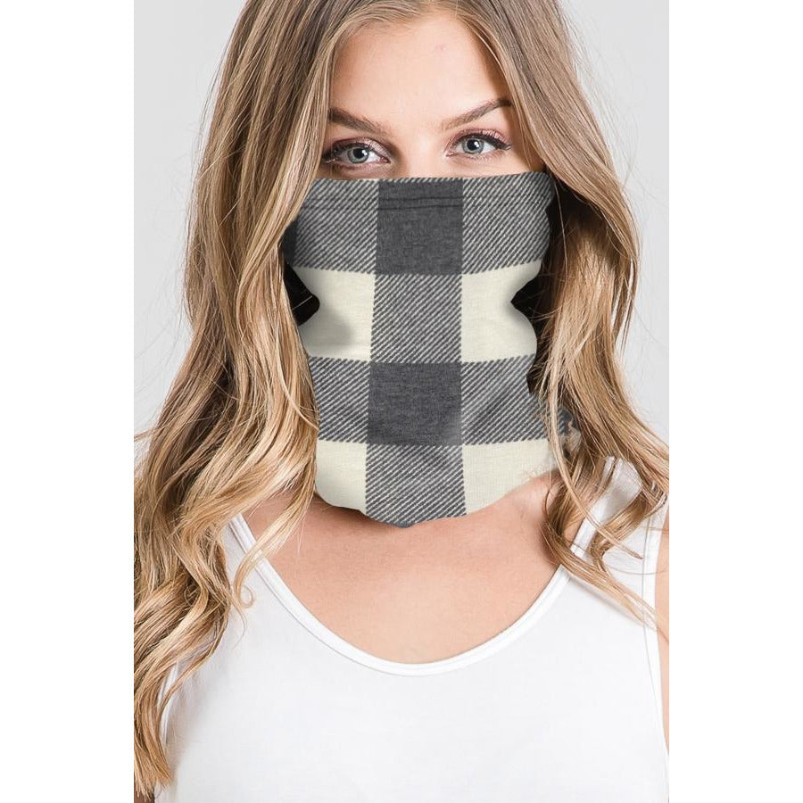 Buffalo Plaid Face Mask