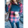 Red and Black Buffalo Plaid Pullover