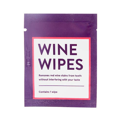 Wine Wipes Singles