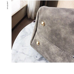 Demi Distressed Cross Body Bag - Lilac Clothing Company LLC