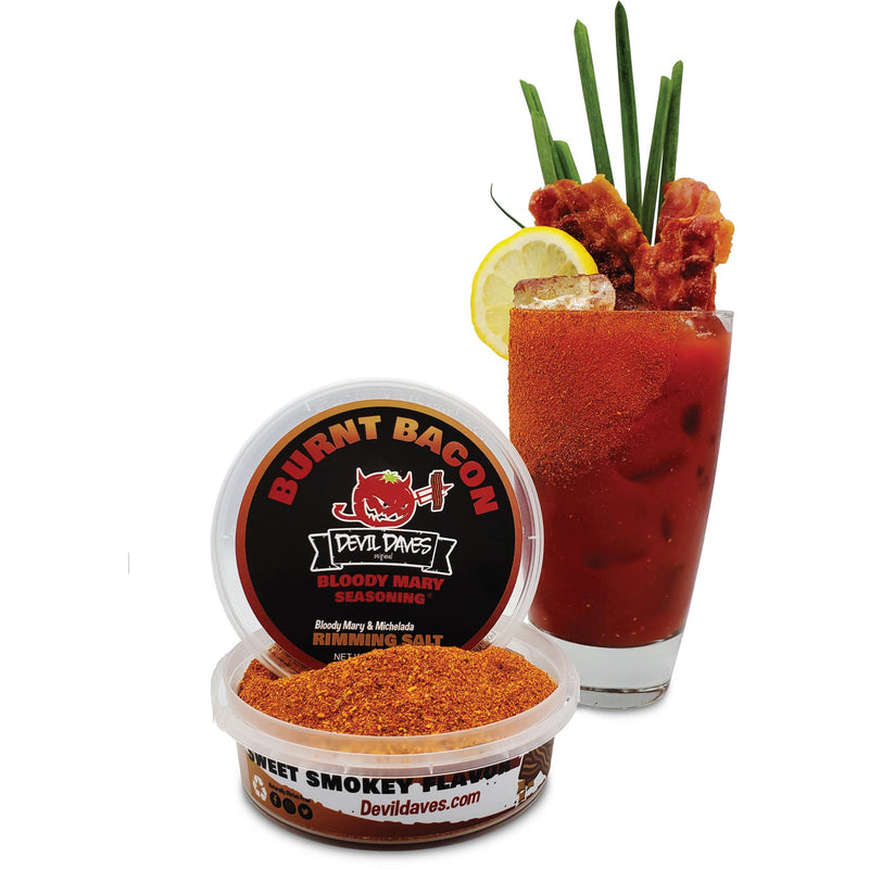 Bloody Mary Rimmer | Burnt Bacon BBQ 4 ozs.