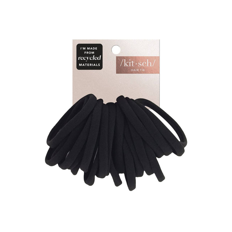 Recycled Nylon Elastics 20pc Set - Black