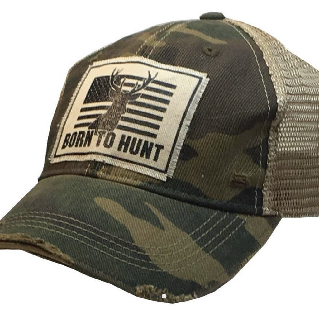 Born to Hunt Trucker Cap - Lilac Clothing Company LLC