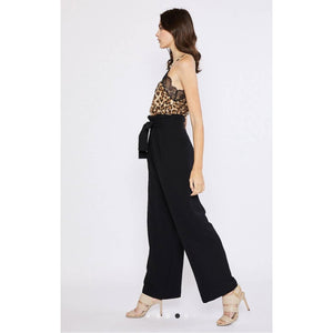 Paperbag High Waist Wide Leg Pants - Lilac Clothing Company LLC