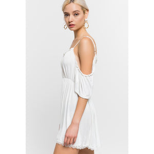 Off Shoulder Summer Dress - Lilac Clothing Company LLC