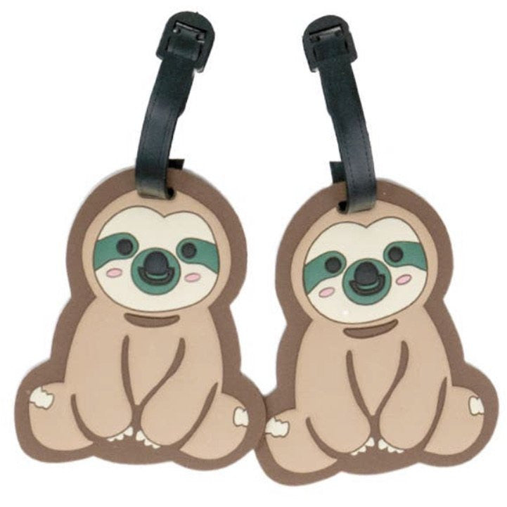Sloth Luggage Tags - Lilac Clothing Company LLC