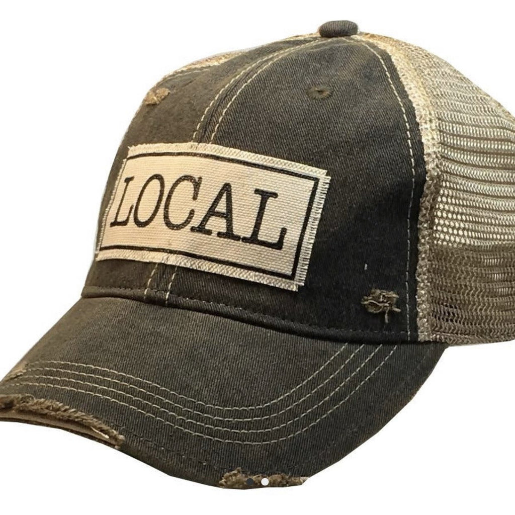 Local Trucker Cap - Lilac Clothing Company LLC