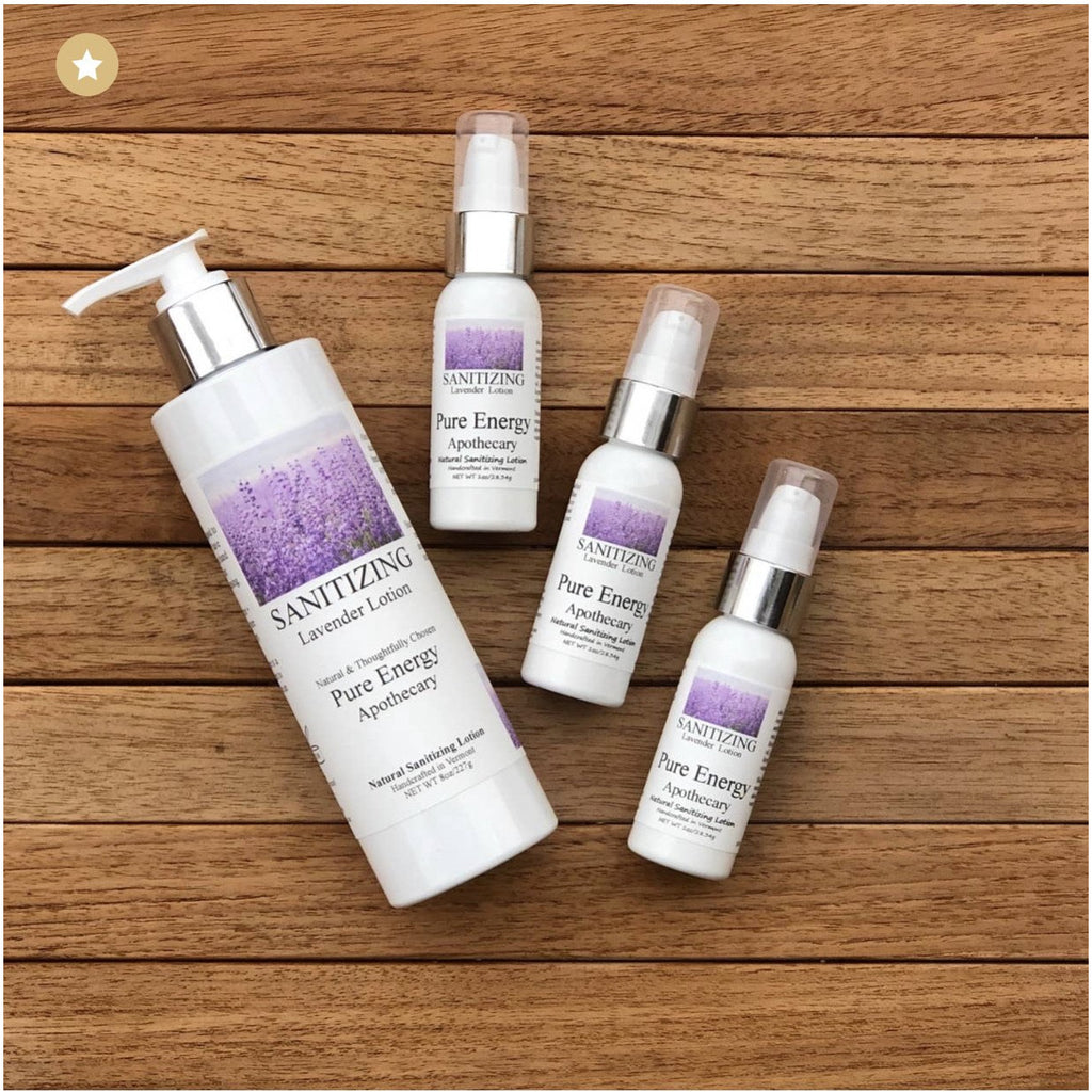 Sanitizing Lavender Lotion - 1 oz. - Lilac Clothing Company LLC