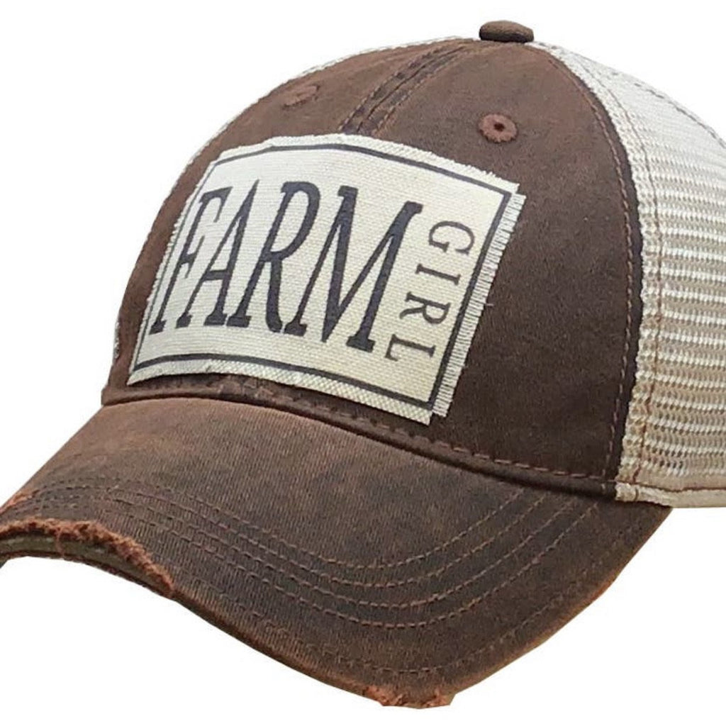 Farmer Girl Trucker Cap - Lilac Clothing Company LLC