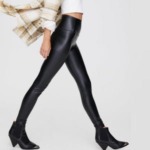 Faux Leather Leggings Small-2XL