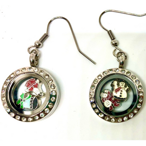 Kauriee locket earrings