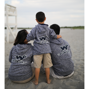 Buddy by the Sea Navy Anchor Sweatshirt - Youth