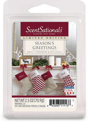 Season's Greetings - Sweet Cinnamon & Patchouli