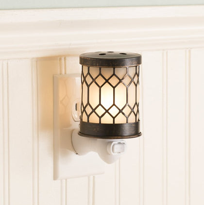 Bronze Lantern Accent Wax Warmer
