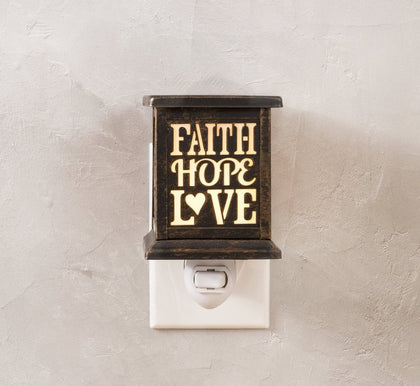 Faith Hope Love Accept Wax Warmer