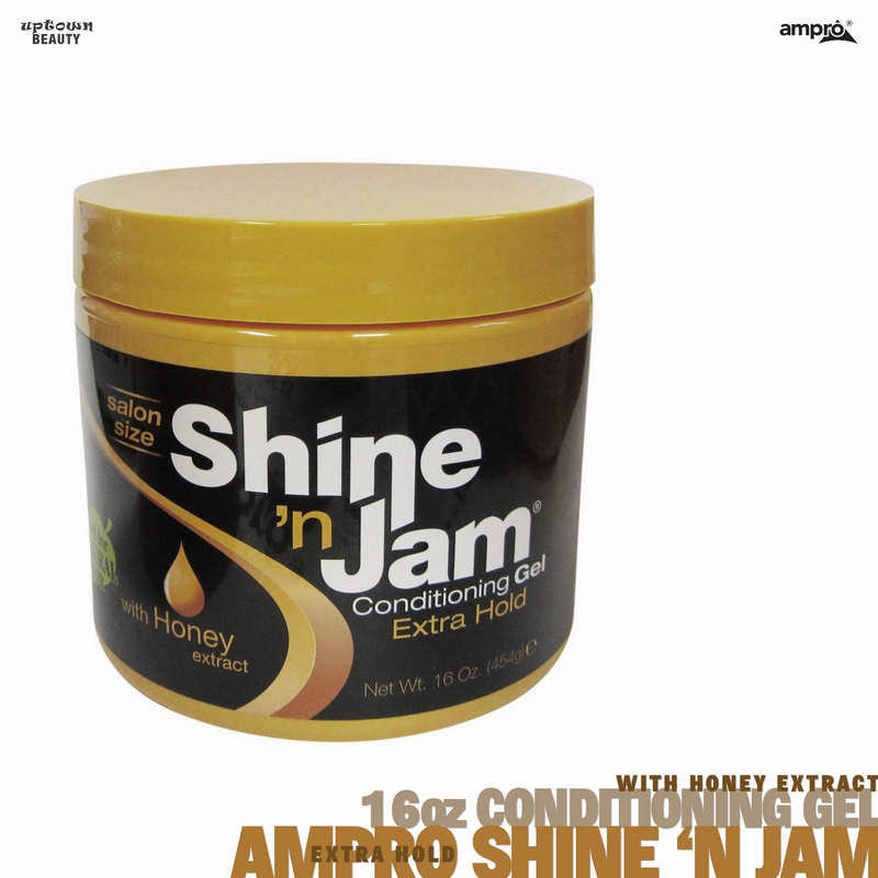 Ampro Pro Styl Shine N' Jam Conditioning Gel Extra Hold (16 oz.)