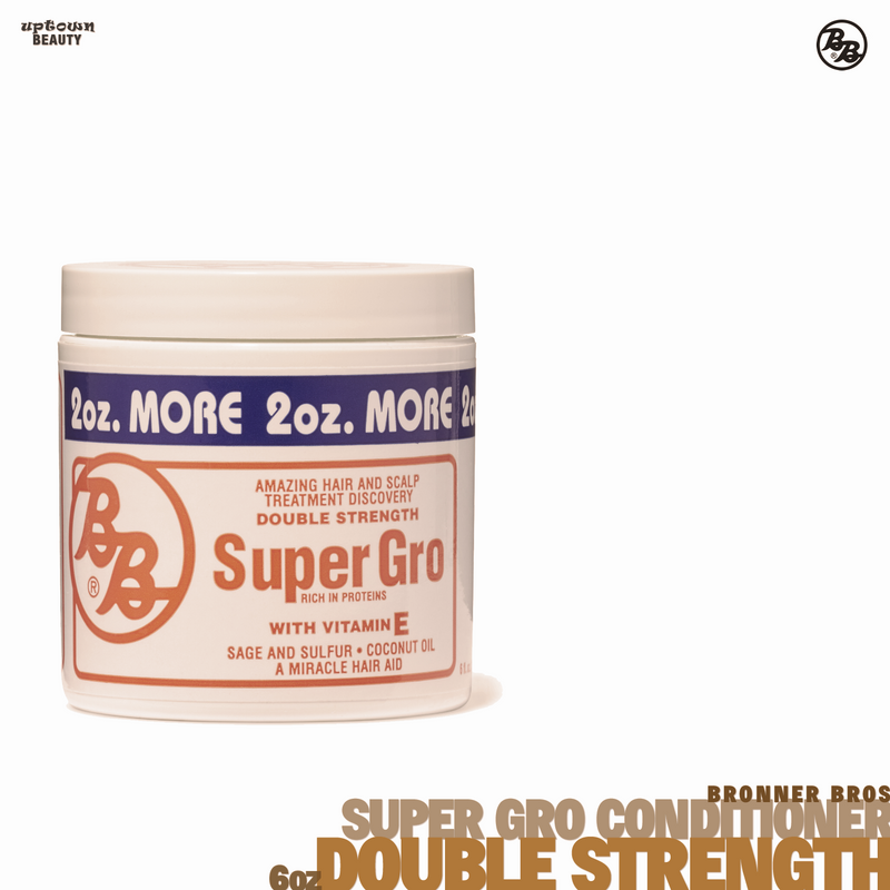 BB Super Gro Conditioner with Vitamin E, Double Strength - 6oz