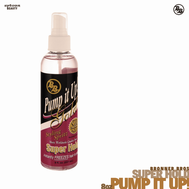 BRONNER BROS Pump it up Gold Super Hold 8oz